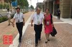 市商务委副主任刘东水到全运村慰问全运服务运营商 - 商务之窗