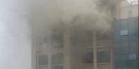 江西赣州市立医院突发火灾 未造成人员伤亡 - 消防网