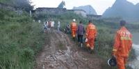 百色:两名群众被困山洞靖西消防成功处置 - 消防网