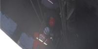 两名工人因设备故障被困污水井 乌海消防紧急救援 - 消防网