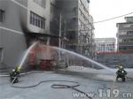 陶瓷厂房失火 泉州消防成功扑灭 - 消防网