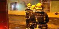 县实验局幼儿园发生火灾 内蒙古磴口消防迅速处置 - 消防网