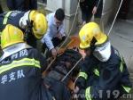 工人失足坠落受重伤 浙江金华浦江消防紧急救援 - 消防网