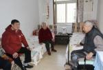 天津市地震局领导春节前夕看望离退休老同志 - 地震局