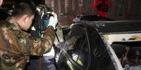 两车相撞一人被困 内蒙古呼市消防成功处置 - 消防网