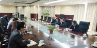 市商务委副主任李宏会见共生国际董事局主席一行 - 商务之窗