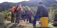 """西藏消防救援力量徒步80余公里开展""""10.11""""山体滑坡救援 - 消防网"""