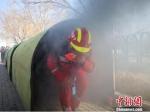 """宁夏启动""""119""""消防宣传月 体验者穿越""""火笼"""" - 消防网"""