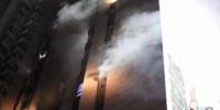 重庆一高楼突发火灾未造成人员伤亡 - 消防网