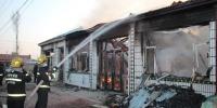 内蒙古开鲁5间民房被烧塌架消防紧急救援 - 消防网