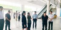 市商务局副局长黄春艳带队赴展馆开展迎国庆安全生产检查 - 商务之窗