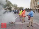 埃及苏伊士经贸合作区进行消防和突发事件处置演习 - 商务之窗