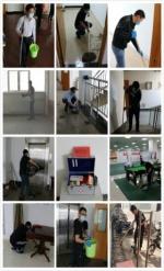 天津市地震局开展环境卫生集中清扫活动 - 地震局